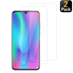 [2-Pack] Huawei P Smart 2019 Skärmskydd  - Härdat Glas Transparent