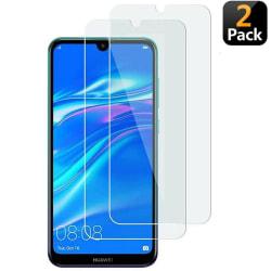 [2-Pack] Skärmskydd Huawei Y6 2019 Härdat Glas Transparent