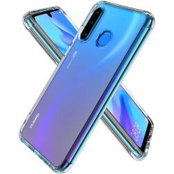 2-Pack Huawei P30 Lite Skal Ultra-Slim Transparent TPU Transparent