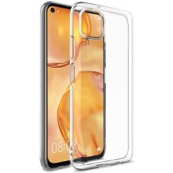 Huawei P40 Lite Skal Ultra-Slim Transparent TPU Transparent