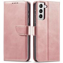 Samsung Galaxy S21 Plus Plånboksfodral Rosa
