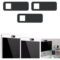 3-Pack Skydd för webbkamera - Webcam Cover Slider - svart Svart