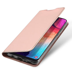 Samsung Galaxy A12 Plånboksfodral Fodral - Roséguld Rosa guld