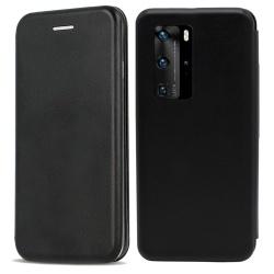 Huawei P40 Pro Fodral - Plånboksfodral Svart Svart