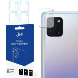 4-Pack 3MK FlexibleGlass Samsung Galaxy Note 10 Lite Linsskydd Transparent