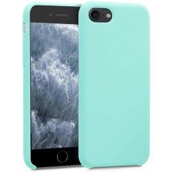 Silikonskal till iPhone SE 2020 / 8 / 7 - Mint Grön