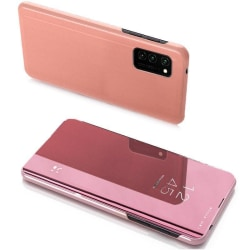 Samsung Galaxy A42 5G Smart View Cover Fodral - Roseguld Rosa