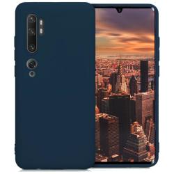Silikonskal till Xiaomi Mi Note 10 - Navy Blue Svart