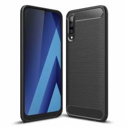 Samsung Galaxy A70 Skal Stöttåligt - Svart Svart