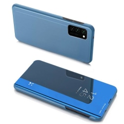 Samsung Galaxy A42 5G Smart View Cover Fodral - Blå Blå