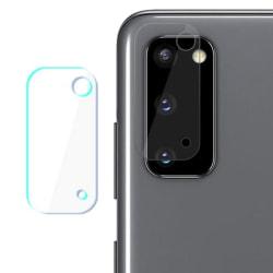 Samsung Galaxy S20 Plus Linsskydd Härdat glas för Kamera Transparent