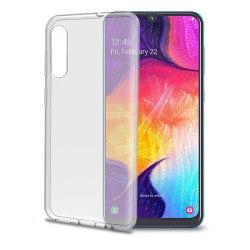 Celly® Gelskin Samsung Galaxy A50 Skal - Transparent Transparent