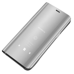 Samsung Galaxy A02s Smart View Cover Fodral -  Silver