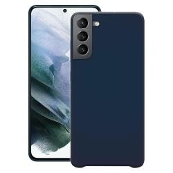 Samsung Galaxy S21 Silicone Case Blue Silikonskal Blå