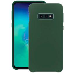 Samsung Galaxy S10E Silikonskal - Liquid Silicone Cover Grön