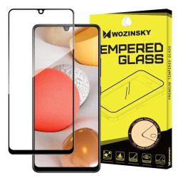 Samsung Galaxy A42 5G Härdat Glas CURVED [Full-Cover] Transparent