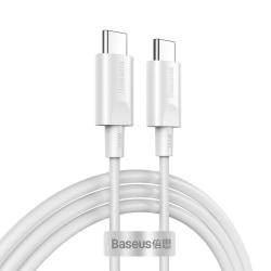 Baseus™ USB-C - USB-C Laddare 100W Macbook/Laptop 1.5M 20V/5A Vit