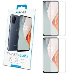 2-Pack Skärmskydd till OnePlus Nord N100 - Härdat Glas Transparent