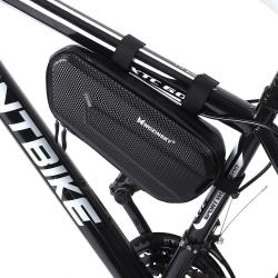 Cykelväska Rammontering 1,5L Vattentät/Stöttålig Svart