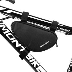 Cykelväska Rammontering 1,5L Vattentät Svart