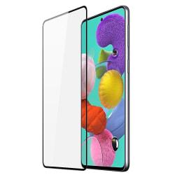 Samsung Galaxy A51 Skärmskydd Heltäckande Härdat Glas Transparent