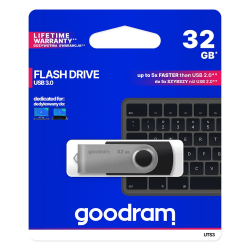 GoodRam® USB-minne 32GB USB 3.0 Twister Svart
