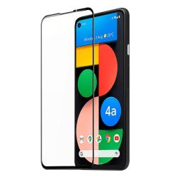 Google Pixel 4A 5G Skärmskydd Heltäckande Härdat Glas Transparent