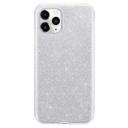 Gradient Glitter 3i1 Skal för iPhone 11 Pro Max - Silver Silver
