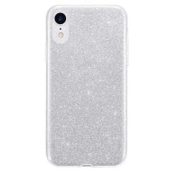 Gradient Glitter 3i1 Skal för iPhone XR - Silver Silver