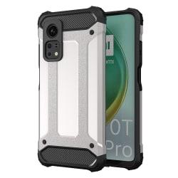 Hybrid Rugged Armor Skal till Xiaomi Mi Note 10T/10T Pro Silver Silver