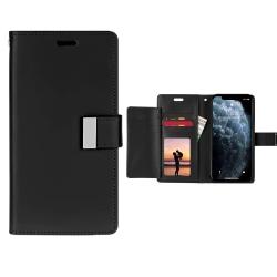 iiglo Rich Diary Plånboksfodral för iPhone 11 Pro Max - svart Svart
