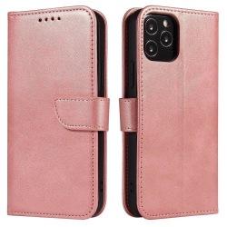 iPhone 12/12 Pro Plånboksfodral Rosa