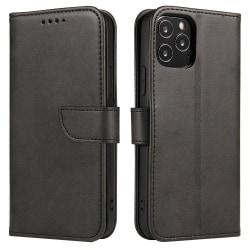 iPhone 12/12 Pro Plånboksfodral Svart
