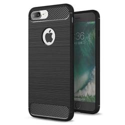 iPhone 8/7 Plus Skal - Anti-Impact Carbon Svart