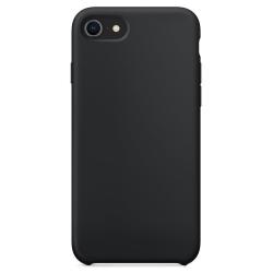 iPhone SE 2020/8/7 Silicone Case - Ultra-Slim Skal Svart