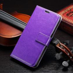 Plånboksfodral Samsung Galaxy S6 Edge - 7 färger Lila