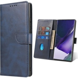 Samsung Galaxy A12 Plånboksfodral - Blå Blå