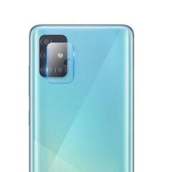 Samsung Galaxy A41 Linsskydd Härdat glas för Kamera Transparent