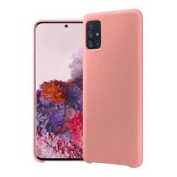 Samsung Galaxy A41  Silicone Case - Sand Pink Silikonskal Rosa