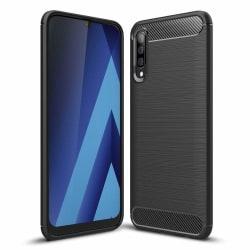 Samsung Galaxy A50 Skal - Anti-Impact Carbon Svart