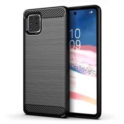Samsung Galaxy Note 10 Lite Exklusivt Stöttåligt Skal - Kolfiber Svart