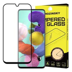 Samsung Galaxy Note 10 Lite Härdat Glas CURVED [Full-Cover] Transparent