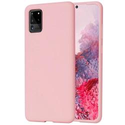 Samsung Galaxy S20 Ultra Skal silikonfodral Pink Sand Rosa