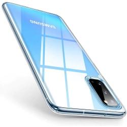 Samsung S20 Ultra Skal Ultra-Slim Transparent TPU  Transparent