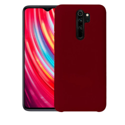 Silikonskal till Xiaomi Redmi Note 8 Pro  - Burgundy Röd