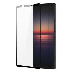 Sony Xperia 1 II Skärmskydd Heltäckande Härdat Glas Transparent