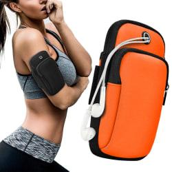 Sportarmband iPhone/Android Vattentät - Orange Orange