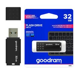 USB-minne 32GB USB 3.0 Pendrive Svart