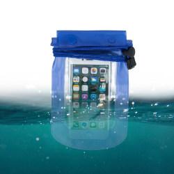 """Vattentät Mobilväska - iPhone & Android 5,5"""" Blå Blå"""