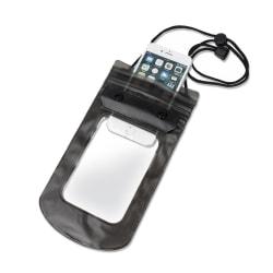 "Vattentät Mobilväska - iPhone & Android 5,5"" Svart/TR Transparent"